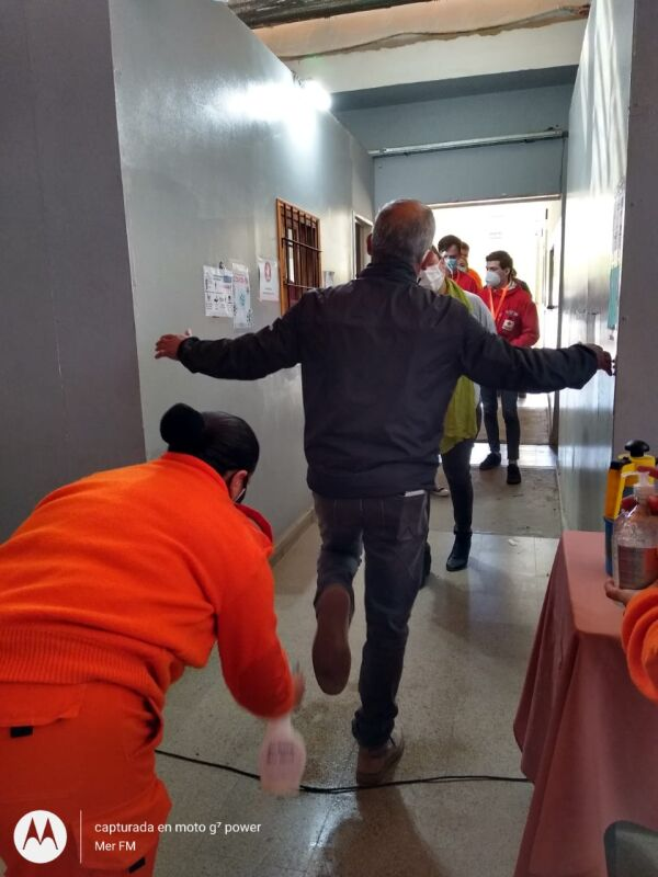Bomberos Voluntarios de La Paz capacitaron a voluntarios civiles